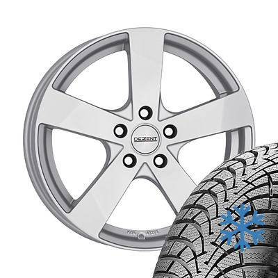 Roues alu hiver 4x RENAULT Fluence Z 205/55 R16 91T Michelin