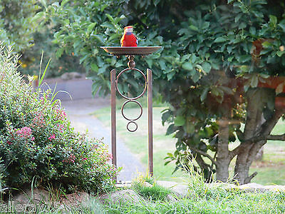 DESIGN BIRD FEEDER BIRD BATH 80CM HIGH garden   NEW