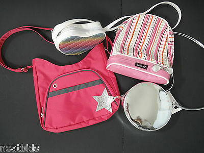 Lot of 4 All NEW Girls' Shoulder and Messenger Bags