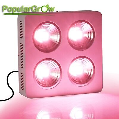 800W PopularGrow LED Wachsen Licht COB Vollspektrum Grow light für Innen pflanze