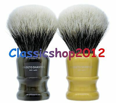 "MS - Extra Density 2 Band 100% Finest Badger Shaving Brush""Atlanta-H&B""24mm knot"
