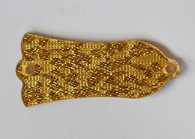 Gold Sparkle Plastic LP Guitar Truss Rod Cover 2 Holes for Gibson Style Les Paul