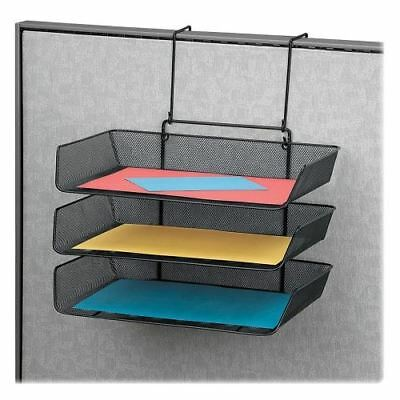 Fellowes Mesh Partition Additions Triple Tray 75902