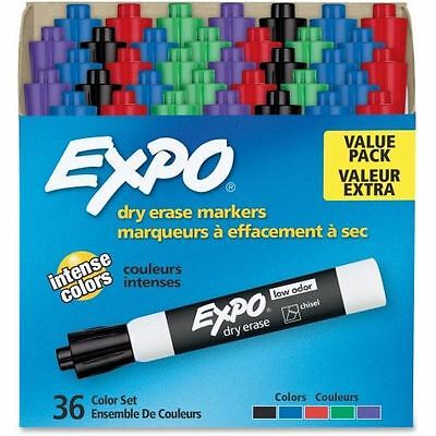 Expo Low-Odor Dry-erase Chisel Tip Markers 1921061