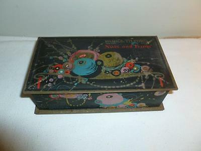 Art Nouveau Vintage Candy Tin New York-Paris Park & Tilford Tindeco Box