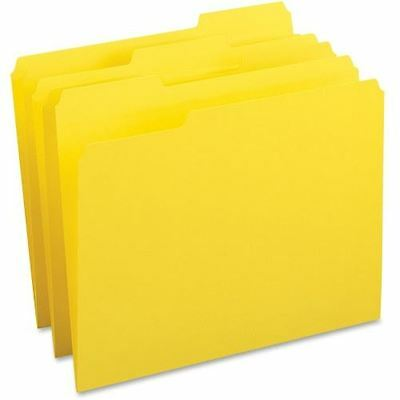 Business Source Color-coding Top Tab File Folder 65778