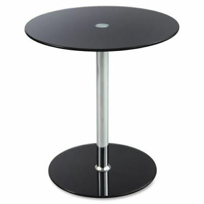 Safco Tempered-glass Accent Table 5095BL