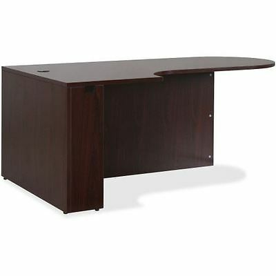 Lorell Essentials Series Mahogany Laminate Desking 59551