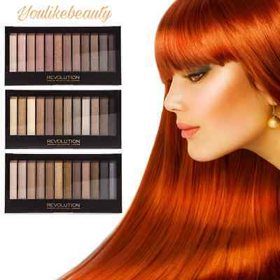 Makeup Revolution Redemption Naked Eyeshadow Palette ICONIC 1 2 3