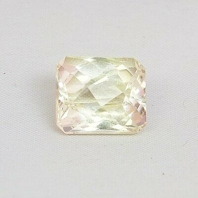 TOP HIDDENITE : 15,91 Ct Natürlicher Gelber Hiddenit ( Yellow Kunzite )