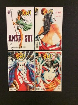 SHI JU-NEN #1 - 3 Comic Books BILLY TUCCI #1 Anna Sui Variant Edition SIGNED NM
