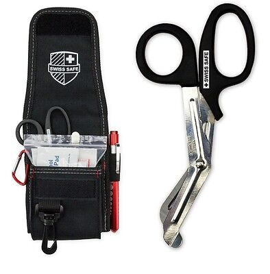 Medical EMT Shears/Scissors, Pupil Light, Tweezers With Tactical First Tool