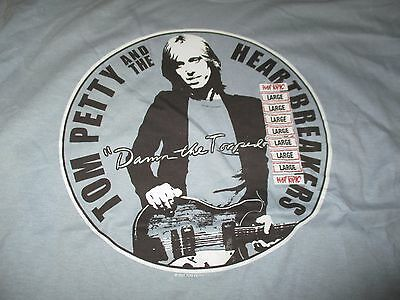 """2001 TOM PETTY and The Heartbreakers DAMN THE TORPEDOS"""" Concert Tour (LG) Shirt"""