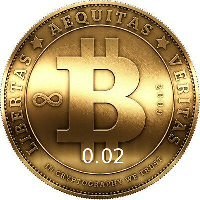 BTC 0.02 BITCOIN 0,02 Direct Transfer to Your Wallet
