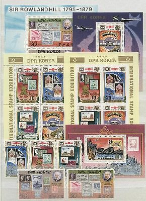 Rowland Hill, Marke auf Marke, Space - Korea - LOT ** MNH