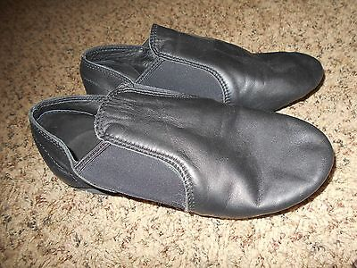 Balera  Dance Shoes Youth Size 1  Black Leather
