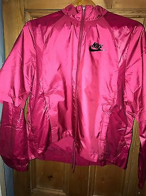 Nike ID Sample Jacket/rain/windrunner/running/festival/women's Size Small New