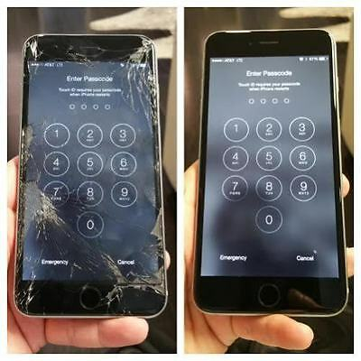 Apple iPhone 6s Plus Cracked Screen Glass Repair Replacement Service OEM