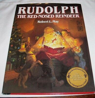 Rudolph The Red Nosed Reindeer - Robert L May Golden Ann Edition Montgomery Ward