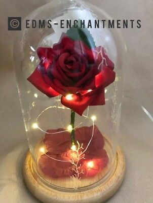 Beauty and the Beast Enchanted Rose *FROSTY VERSION* BIRTHDAYS/WEDDINGS ETC
