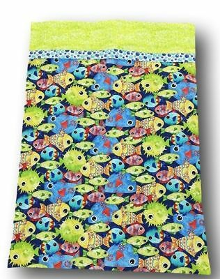 "Handcrafted Pillow Case Under the Sea  30"" x 20 """