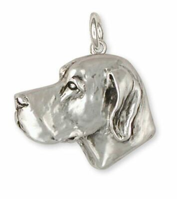 Great Dane Charm Jewelry Sterling Silver Handmade Dog Charm DN2-C