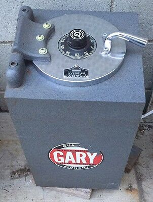 "Vintage Gary Safe / Floor Safe (Never Installed) 6.5"" Opening / 8"" W x 14"" D Int"