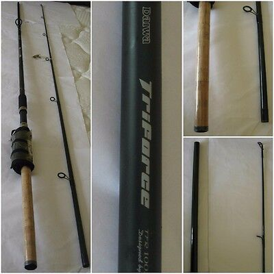 *NEW* Daiwa Triforce 10 foot Spinning Rod 2 Piece Salmon & Trout