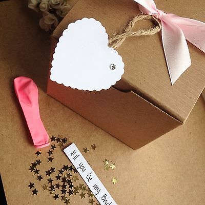 NexT Day Delivery gift present cute idea Pop The Balloon Message Box X2