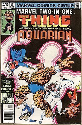 Marvel Two-In-One #58 - VF