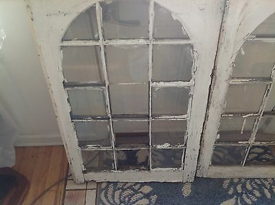 Vintage Sash Wood Window Picture Frame Shabby Chic 15 Pane Farmhouse So Cute