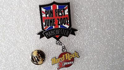 Pin's Limite 500 Ex Hard Rock Cafe 30 Years Manchester Pin Fest June 2001