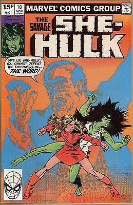 Savage She-Hulk #10 - VF-