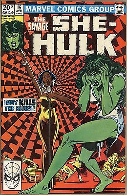 Savage She-Hulk #15 - VF-