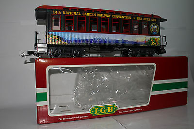Lgb G Scale #30808 Bay Area Garden Railway Convention Passenger Coach Car, Boxed