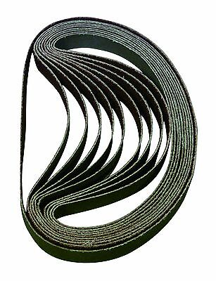 Astro Pneumatic BSP100 100-Grit 3/8-Inch by 13-Inch Sanding Belt, 10-Piece