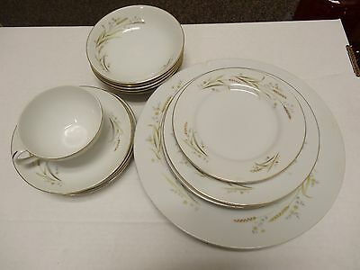 LOT OF 16 PCS Vintage 1960's FINE CHINA OF JAPAN GOLDEN HARVEST Japan L77