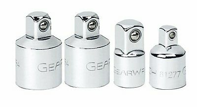 GearWrench 81217 4 Piece Socket Adapter Set