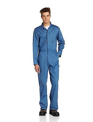 Berne Mens Deluxe 8.2 Ounce Unlined Coverall, Postman Blue, 42 Short
