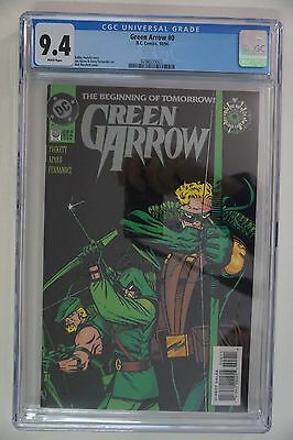 Green Arrow #0 CGC 9.4 (1994) DC Arrow TV Show 1st Appearance Connor Hawke