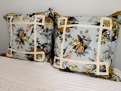 French Handmade European Antique Pillow Euro Shams Very Rachel Ashwell