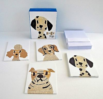 Paste Dogs Note Cards Designed by Denise Fiedler