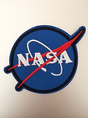 NASA Patch - Iron Sew On - Embroidered Badge - Space Theme Costume Astronaut