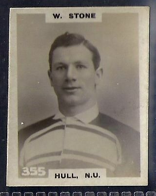 Pinnace Football-Black Oval Back-#0355- Rugby - Hull. N.u. - W. Stone