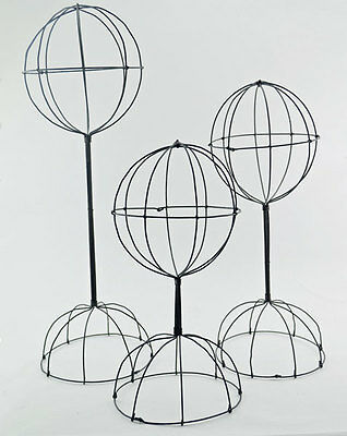 Wire Hat Display Stands - Set of 3