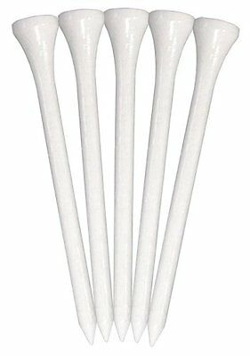 Pride Professional Tee System Golf Tee, 3-1/4-Inch Deluxe Tee, 75-Count, White