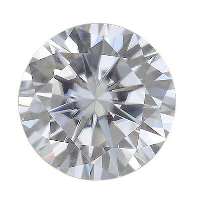 GH Color Round Excellent Cut Loose Moissanite Stone Lab Created  Diamond VVS1