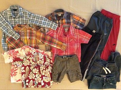 Lot of Boys Clothes size 4-5 Nike, Quiksilver, Gap more