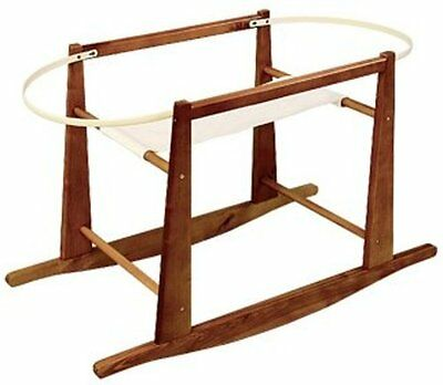 Jolly Jumper Deluxe Moses Basket Stand - Cherry