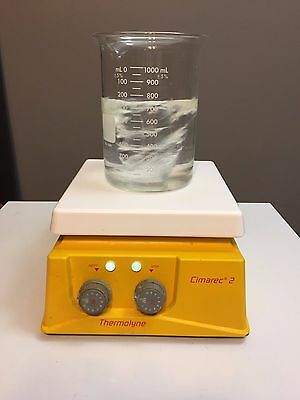"Thermolyne Cimarec 2 Hot Plate Magnetic Stirrer 7"" x 7"" 120V SP4692 Stirring"